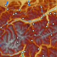 Nearby Forecast Locations - Fulpmes - Map