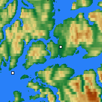 Nearby Forecast Locations - Harstad - Map