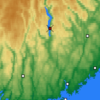 Nearby Forecast Locations - Byglandsfjord - Map