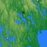 Nearby Forecast Locations - Arvika - Map