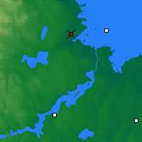 Nearby Forecast Locations - Gävle - Map