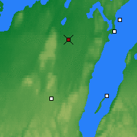 Nearby Forecast Locations - Skövde - Map