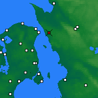 Nearby Forecast Locations - Helsingborg - Map
