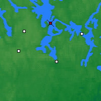 Nearby Forecast Locations - Asikkala Pulkkilanharju - Map