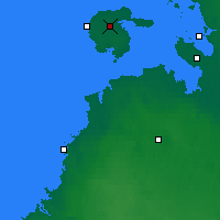Nearby Forecast Locations - Hailuoto - Map