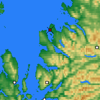 Nearby Forecast Locations - Ullapool - Map