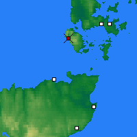 Nearby Forecast Locations - Orkney / Hoy - Map