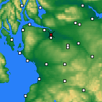 Nearby Forecast Locations - Glasgow - Map