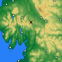 Nearby Forecast Locations - Penrith - Map