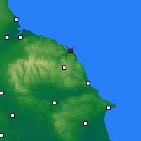 Nearby Forecast Locations - Whitby - Map