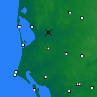 Nearby Forecast Locations - Borris - Map