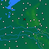 Nearby Forecast Locations - Barneveld - Map