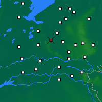 Nearby Forecast Locations - Amersfoort - Map