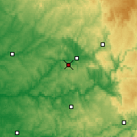 Nearby Forecast Locations - Grèzes - Map