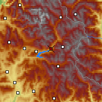 Nearby Forecast Locations - Embrun - Map