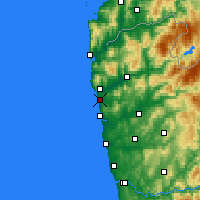 Nearby Forecast Locations - Viana do Castelo - Map