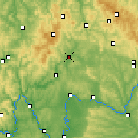 Nearby Forecast Locations - Bad Neustadt - Map