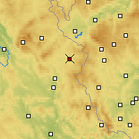 Nearby Forecast Locations - Tirschenreuth - Map