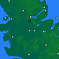 Nearby Forecast Locations - Jagel - Map