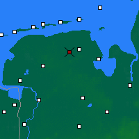 Nearby Forecast Locations - Wittmund - Map