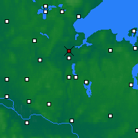Nearby Forecast Locations - Lübeck - Map
