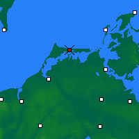 Nearby Forecast Locations - Fischland-Darß-Zingst - Map