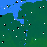 Nearby Forecast Locations - Emden - Map