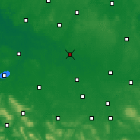 Nearby Forecast Locations - Celle - Map