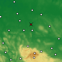 Nearby Forecast Locations - Braunschweig - Map