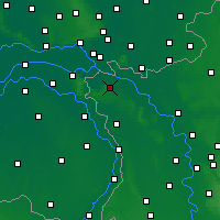 Nearby Forecast Locations - Kleve - Map