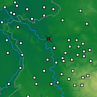Nearby Forecast Locations - Wesel - Map