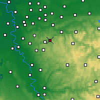 Nearby Forecast Locations - Schauenburg - Map