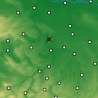Nearby Forecast Locations - Halle - Map