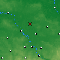 Nearby Forecast Locations - Herzberg - Map
