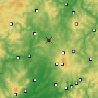 Nearby Forecast Locations - Homberg (Ohm) - Map