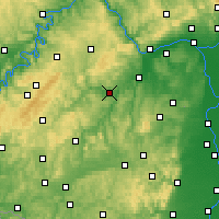Nearby Forecast Locations - Bad Sobernheim - Map