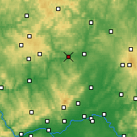 Nearby Forecast Locations - Wetzlar - Map