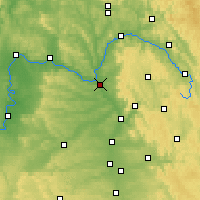 Nearby Forecast Locations - Bamberg - Map