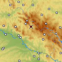 Nearby Forecast Locations - Zwiesel - Map