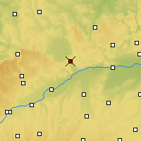Nearby Forecast Locations - Donau-Ries - Map