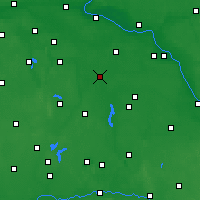 Nearby Forecast Locations - Inowrocław - Map