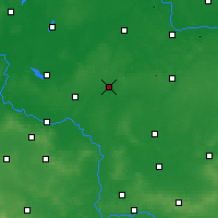 Nearby Forecast Locations - Leszno - Map