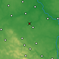 Nearby Forecast Locations - Piastów - Map