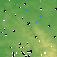 Nearby Forecast Locations - Częstochowa - Map