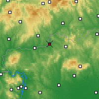 Nearby Forecast Locations - Szécsény - Map