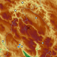 Nearby Forecast Locations - Žabljak - Map
