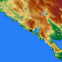 Nearby Forecast Locations - Herceg Novi - Map
