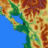 Nearby Forecast Locations - Shkodër - Map