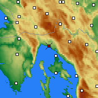 Nearby Forecast Locations - Rijeka - Map