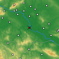 Nearby Forecast Locations - Sisak - Map
